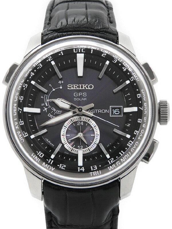 【SEIKO】セイコー『アストロン』SBXA037 45****番 メンズ ソーラーGPS 3ヶ月保証【中古】