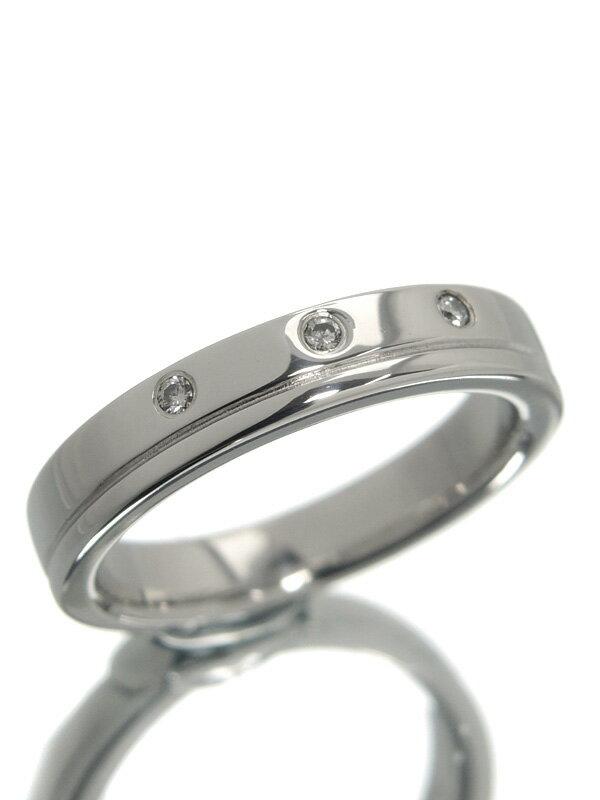 【TASAKI】【仕上済】タサキ『PT1000リング ダイヤモンド0.02ct』8号 1週間保証【中古】