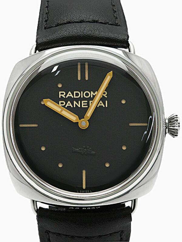【PANERAI】【裏スケ】パネライ『ラジオミール S.L.C 3デイズ』PAM00425 P番'13年製 メンズ 手巻き 6ヶ月保証【中古】