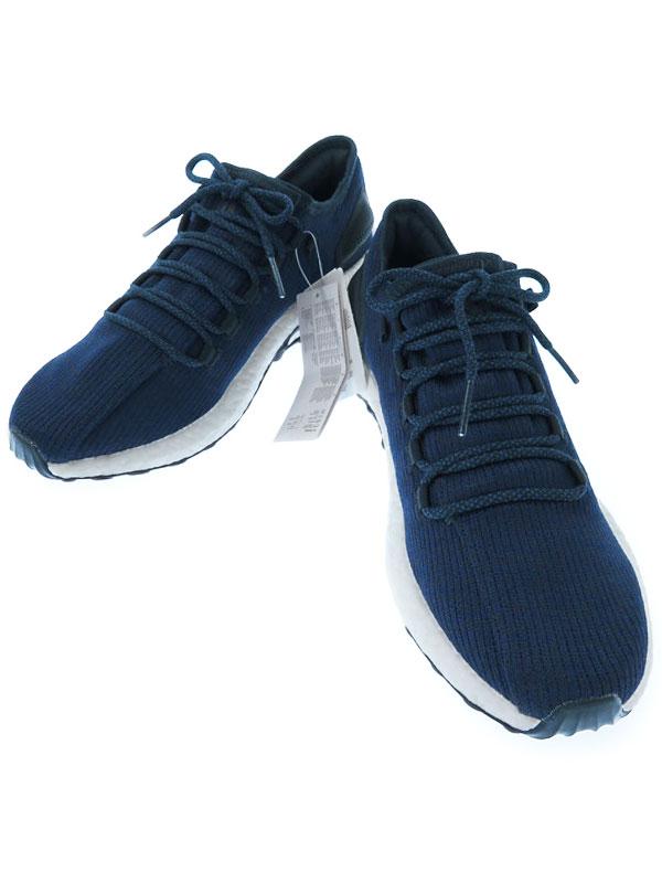 【adidas】【PureBOOST】アディダス『ピュアブースト ランニングシューズ size28.5cm』BA8898 メンズ スニーカー 1週間保証【中古】