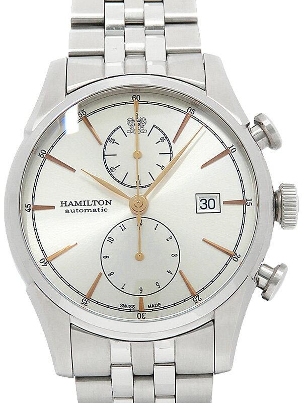 【HAMILTON】【裏スケ】ハミルトン『ジャズマスター スピリットオブ リバティー』H32416181 メンズ 自動巻き 1ヶ月保証【中古】