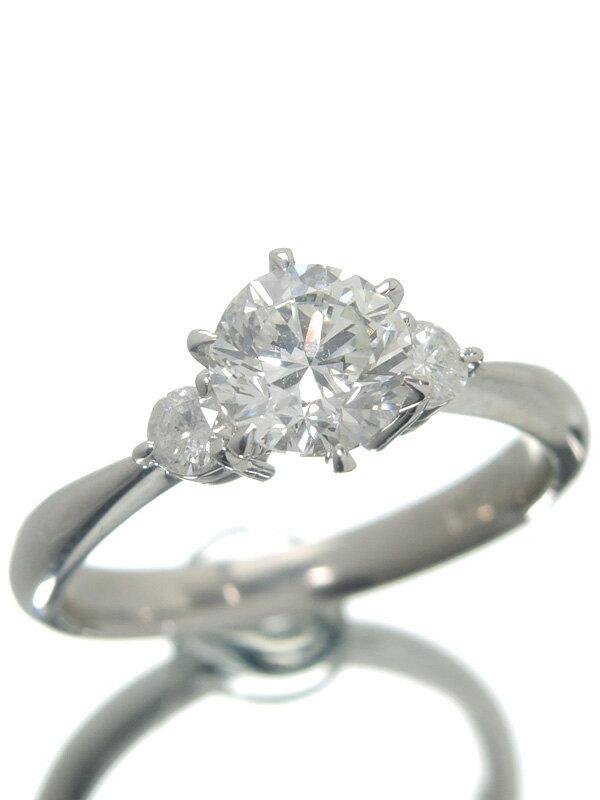 【ソーティング】【仕上済】セレクトジュエリー『PT900リング ダイヤモンド1.004ct/H/VS-1/GOOD』12号 1週間保証【中古】