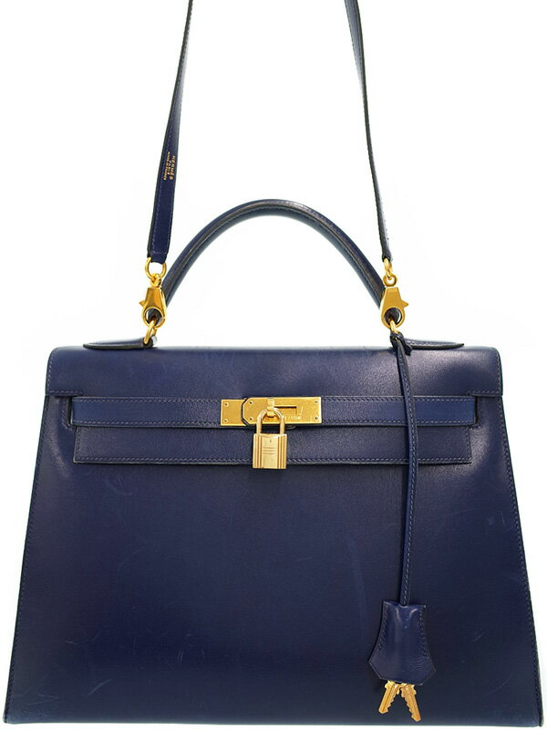 【HERMES】【ゴールド金具】エルメス『ケリー32 外縫い』W刻印 1993年製 レディース 2WAYバッグ 1週間保証【中古】