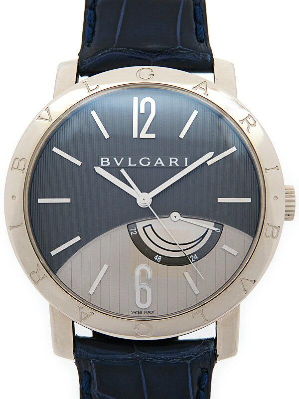 【BVLGARI】【WGケース】ブルガリ『ブルガリブルガリ リザーブドマルシェ』BBW41GL メンズ 手巻き 6ヶ月保証【中古】