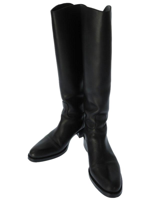【SARTORE】【底張り済】サルトル『レザーロングブーツ size37 1/2』レディース 1週間保証【中古】