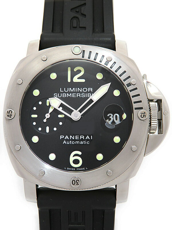 【PANERAI】パネライ『ルミノール サブマーシブル 44mm』PAM00024 P番'13年製 メンズ 自動巻き 6ヶ月保証【中古】