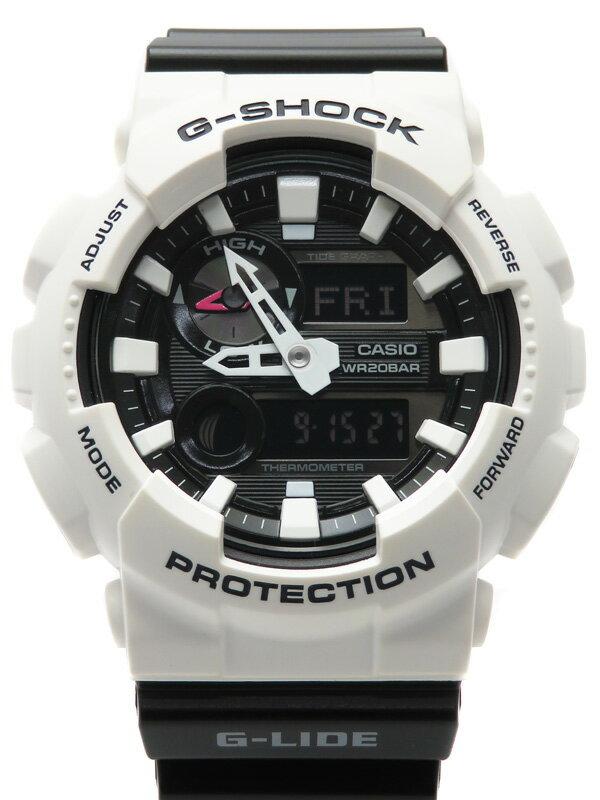 【CASIO】【G-SHOCK】カシオ『Gショック Gライド』GAX-100B-7AJF メンズ クォーツ 1週間保証【中古】