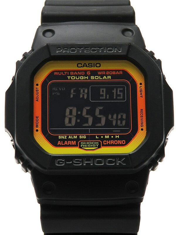 【CASIO】【G-SHOCK】【'17年購入】カシオ『Gショック』GW-M5610BY-1JF メンズ ソーラー電波クォーツ 1週間保証【中古】