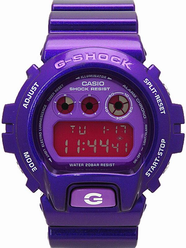 【CASIO】【G-SHOCK】【電池交換済】カシオ『Gショック クレイジーカラーズ』DW-6900CC-6JF メンズ クォーツ 1週間保証【中古】