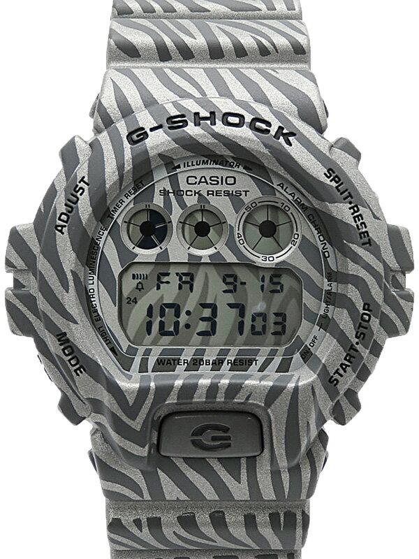 【CASIO】【G-SHOCK】【美品】カシオ『Gショック ゼブラカモフラージュシリーズ』DW-6900ZB-8JF メンズ クォーツ 1週間保証【中古】