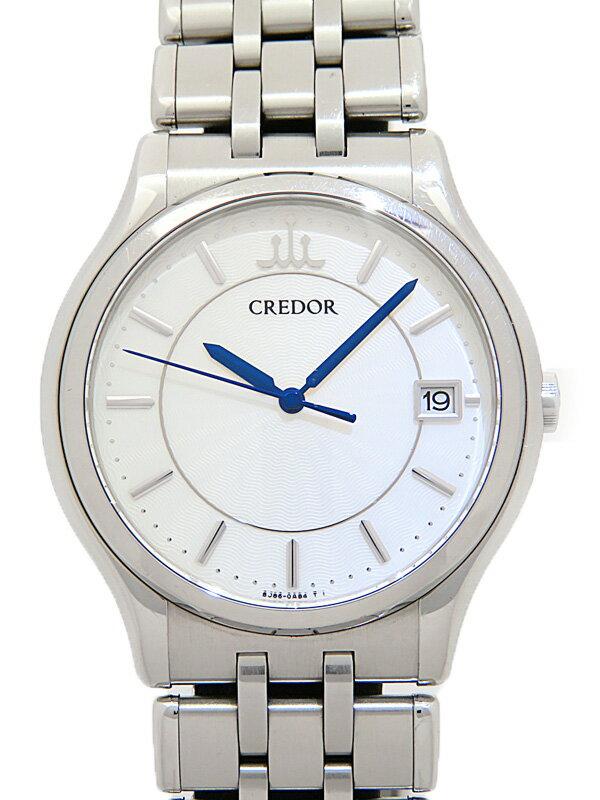 【SEIKO】セイコー『クレドール シグノ』GCAZ015 メンズ クォーツ 1ヶ月保証【中古】