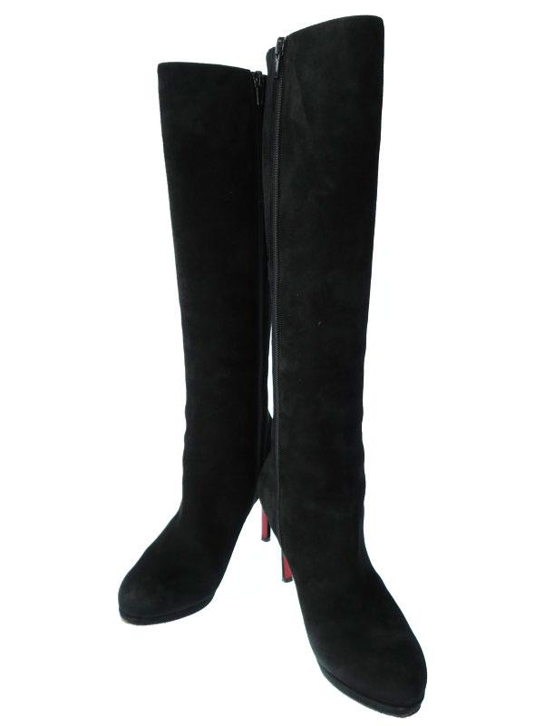 【Christian Louboutin】クリスチャンルブタン『BOTALILI ロングブーツ  size36』レディース 1週間保証【中古】