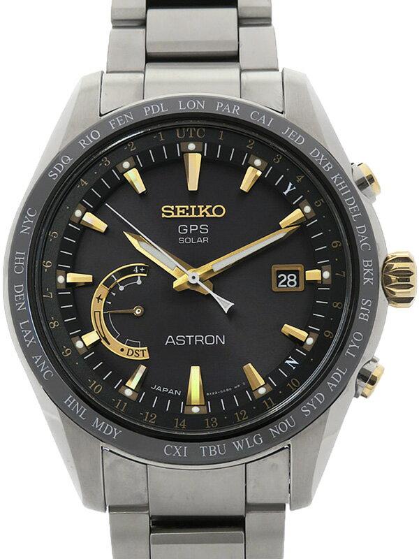 【SEIKO】セイコー『アストロン』SBXB087 65****番 メンズ ソーラーGPS 3ヶ月保証【中古】