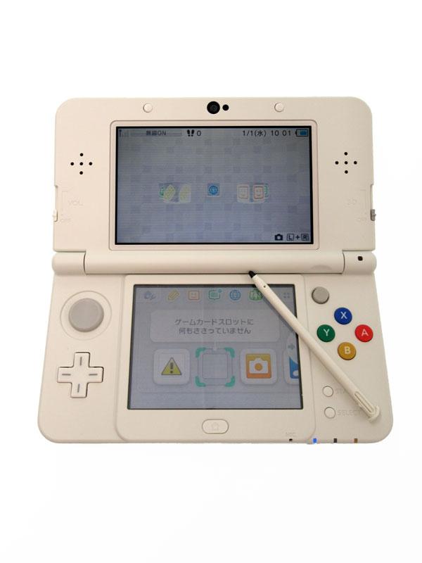 任天堂『Newニンテンドー3DS』KTR-S-WAAA(JPN) ホワイト 3D ゲーム機本体【中古】