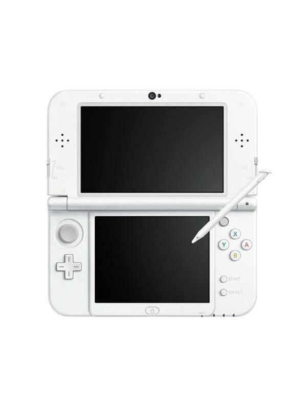 任天堂『Newニンテンドー3DSLL』RED-S-WAAA(JPN) パールホワイト 3Dブレ防止機能 ゲーム機本体【中古】