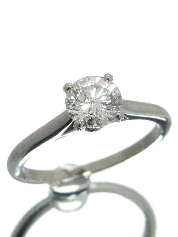 【Cartier】【MKコーフィル】【仕上済】【鑑定書】カルティエ『ソリテール リング ダイヤモンド0.70ct/G/VVS-2/EXCELLENT』7号 1週間保証【中古】