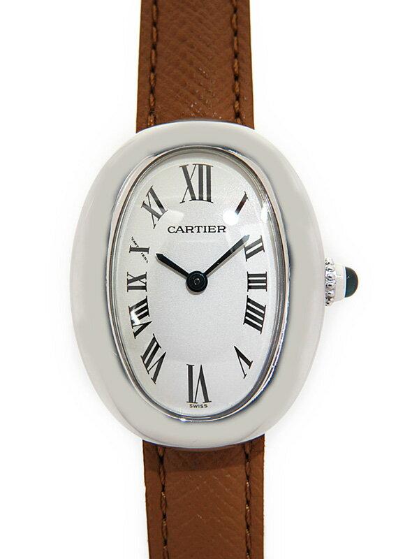 【Cartier】【電池交換・仕上済】カルティエ『ベニュワール』W1516856 レディース クォーツ 3ヶ月保証【中古】