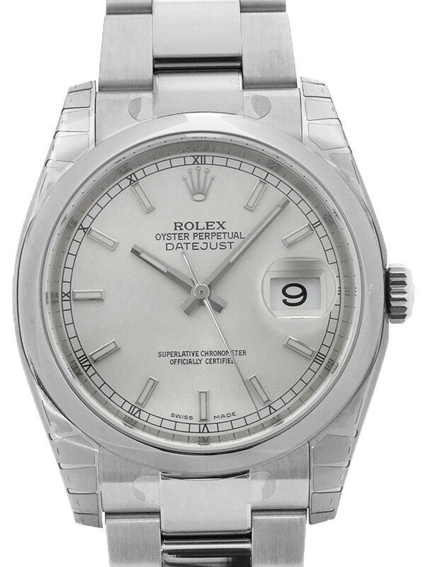 【ROLEX】【'17年購入】【美品】ロレックス『デイトジャスト』116200 ランダム番 メンズ 自動巻き 12ヶ月保証【中古】