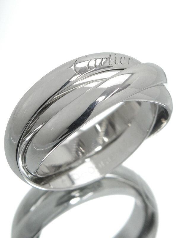 【Cartier】【仕上済】カルティエ『トリニティ リング』14号 1週間保証【中古】