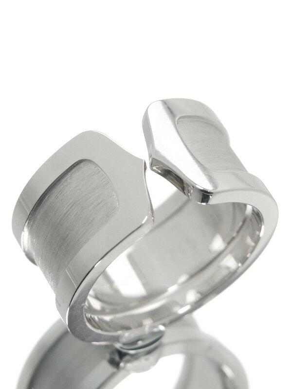 【Cartier】【仕上済】カルティエ『ロゴ ドゥーブルC C2リング』11号 1週間保証【中古】