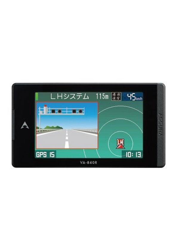セルスター『ASSURA(アシュラ)』VA-840R 3.2インチ ワンボディー みちびき GPSレーダー探知機【新品】