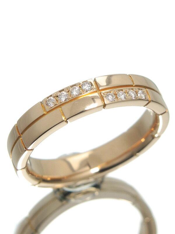 【Ponte Vecchio】【仕上済】ポンテヴェキオ『K18PGリング ダイヤモンド0.05ct』8号 1週間保証【中古】