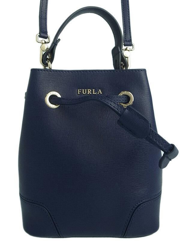 【FURLA】フルラ『ステイシー ミニ 2WAYハンドバッグ』レディース 2WAYバッグ 1週間保証【中古】