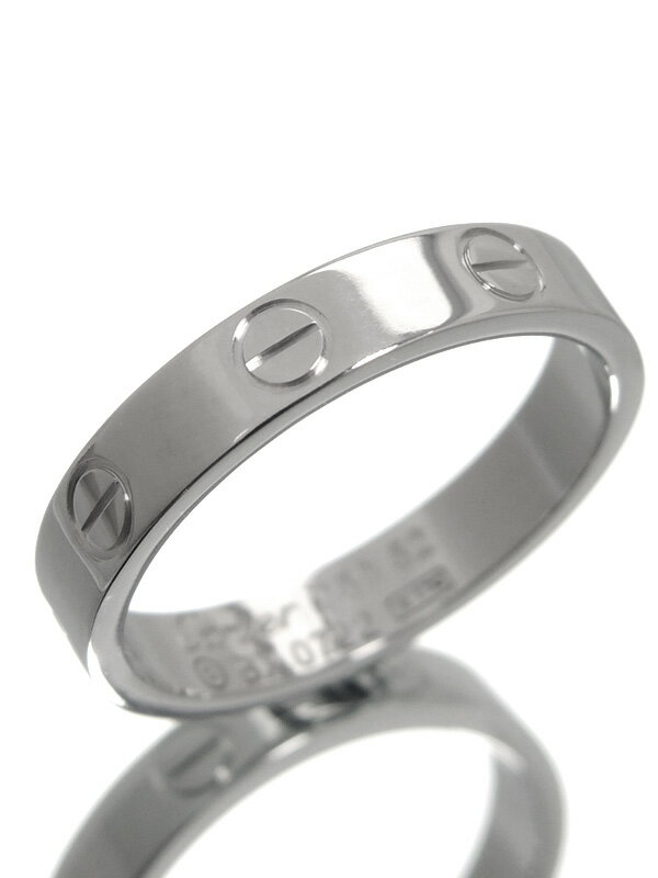【Cartier】【仕上済】カルティエ『ミニラブリング』12号 1週間保証【中古】