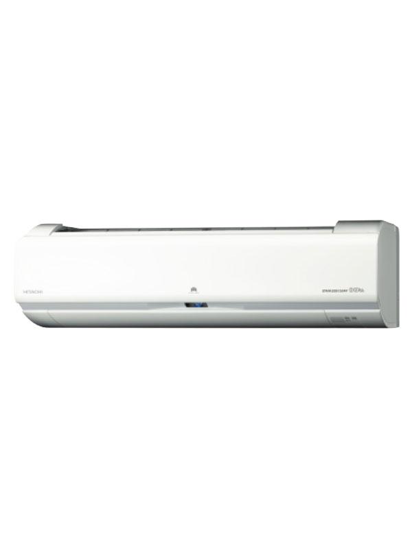 日立『白くまくんWシリーズ』RAS-W22G(W) スターホワイト 単相100V 6畳用 ルームエアコン【中古】