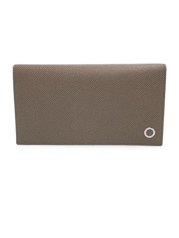 【BVLGARI】ブルガリ『ブルガリブルガリ 二つ折り長財布』30399 メンズ 1週間保証【中古】