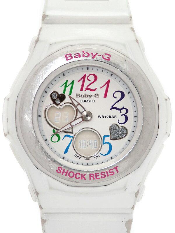 【CASIO】【Baby-G】カシオ『ベビーG ジェミーダイアルシリーズ』BGA-101-7BJF レディース クォーツ 1週間保証【中古】