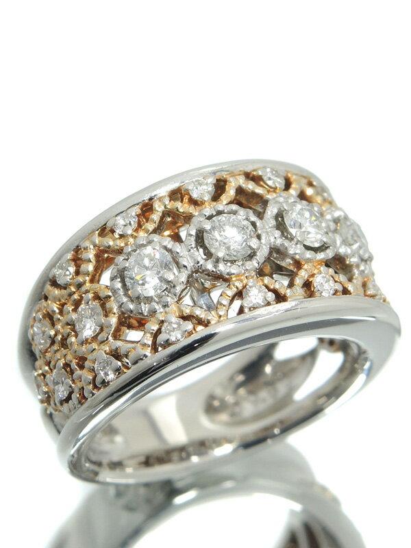 【Southern Cross】【訳有特価】サザンクロス『PT900リング ダイヤモンド0.80ct』13号 1週間保証【中古】