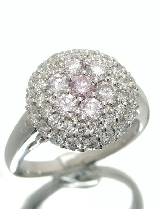 【仕上済】セレクトジュエリー『PT900リング ダイヤモンド0.118ct 1.63ct』12号 1週間保証【中古】