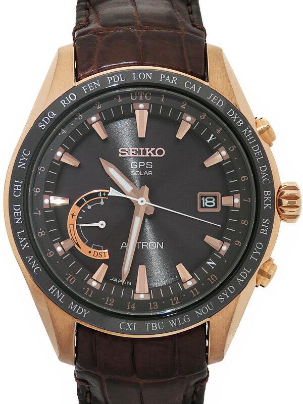 【SEIKO】【'16年購入】セイコー『アストロン』SBXB096 65****番 メンズ ソーラー電波GPS 1ヶ月保証【中古】