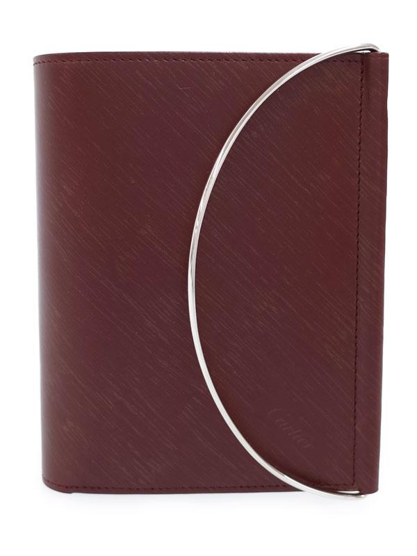 【Cartier】カルティエ『ハンドル付 二つ折り短財布』L3000514 レディース 1週間保証【中古】