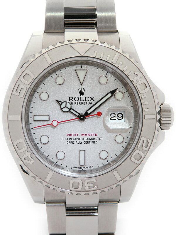 【ROLEX】【'13年購入】ロレックス『ヨットマスターロレジウム』116622 ランダム製番 メンズ 自動巻き 12ヶ月保証【中古】