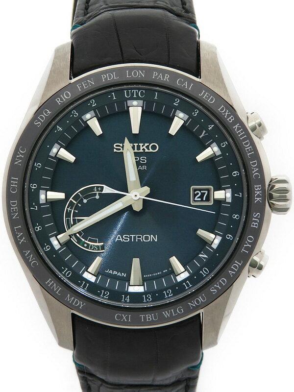 【SEIKO】【美品】セイコー『アストロン』SBXB115 6N****番 メンズ ソーラーGPS 1ヶ月保証【中古】