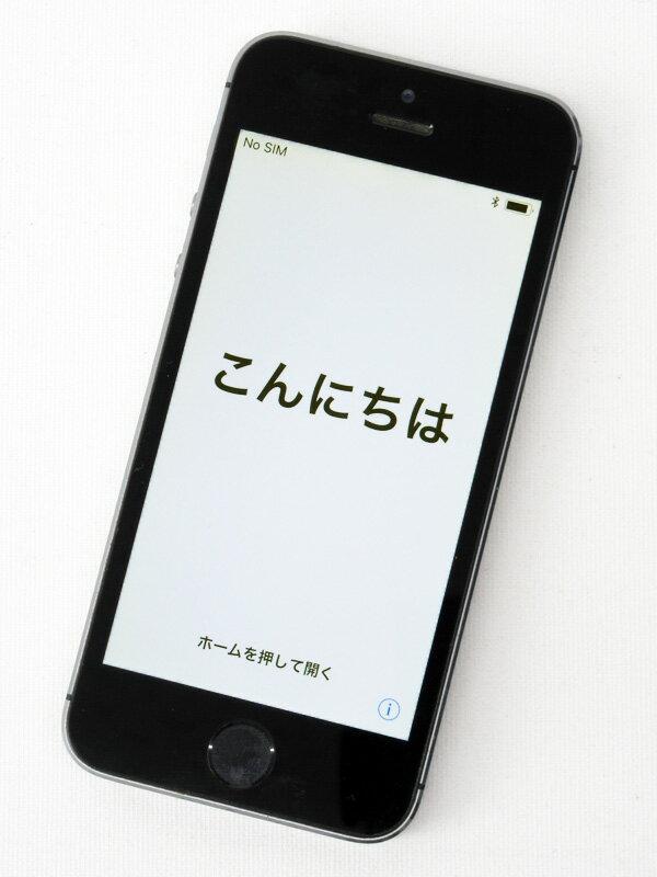 アップル『iPhone 5s 32GB docomo』ME335J/A スペースグレイ iOS11.0.3 4型Retina ○判定 スマートフォン【中古】