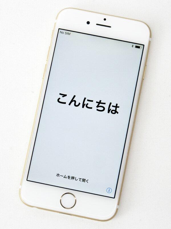 アップル『iPhone 6 64GB SoftBank』MG4J2J/A ゴールド iOS11.0.3 4.7型Retina 白ロム ○判定 スマートフォン【中古】