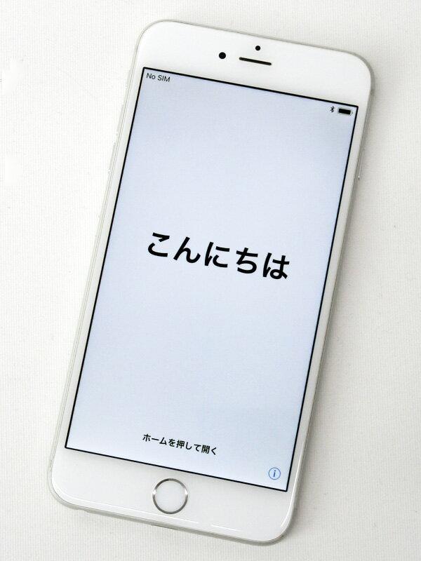 【Apple】アップル『iPhone 6 Plus 16GB docomo』MGA92J/A シルバー 交換プログラム対象 iOS11.0.3 5.5型 白ロム ○判定 スマートフォン【中古】