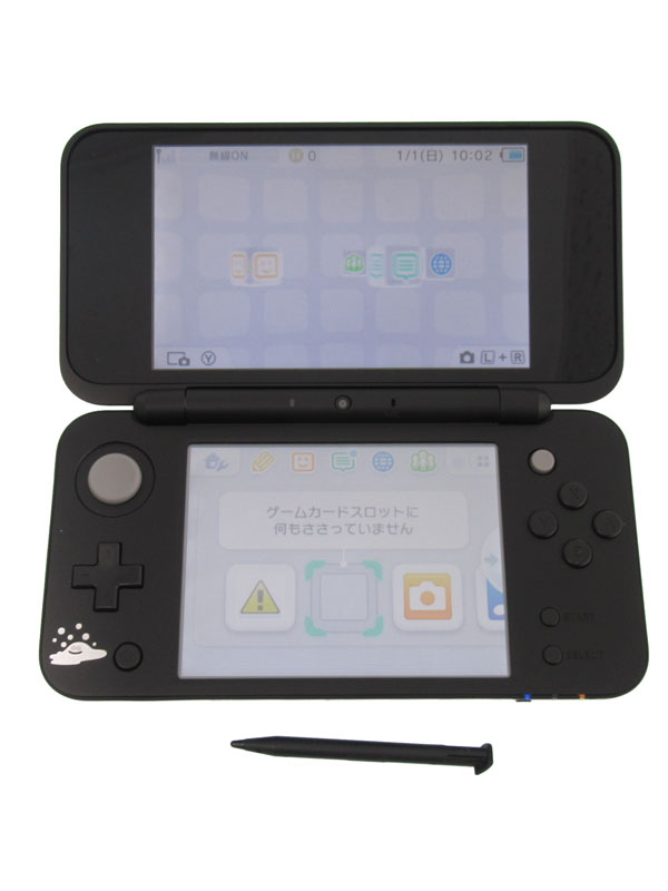 【Nintendo】任天堂『Newニンテンドー2DS LL ドラゴンクエスト はぐれメタルエディション』JAN-S-KBCA ゲーム機本体 1週間保証【中古】