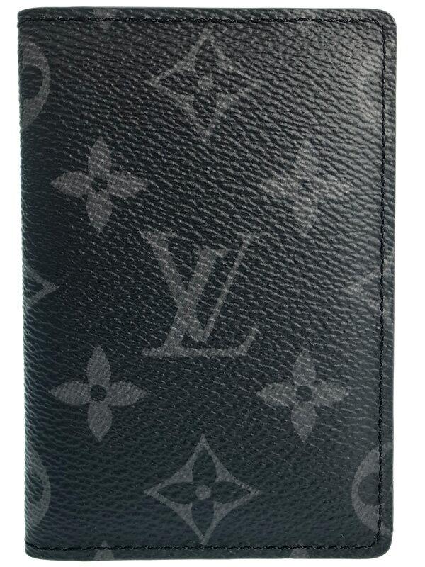 【LOUIS VUITTON】ルイヴィトン『モノグラム エクリプス オーガナイザー ドゥ ポッシュ』M61696 メンズ カードケース 1週間保証【中古】