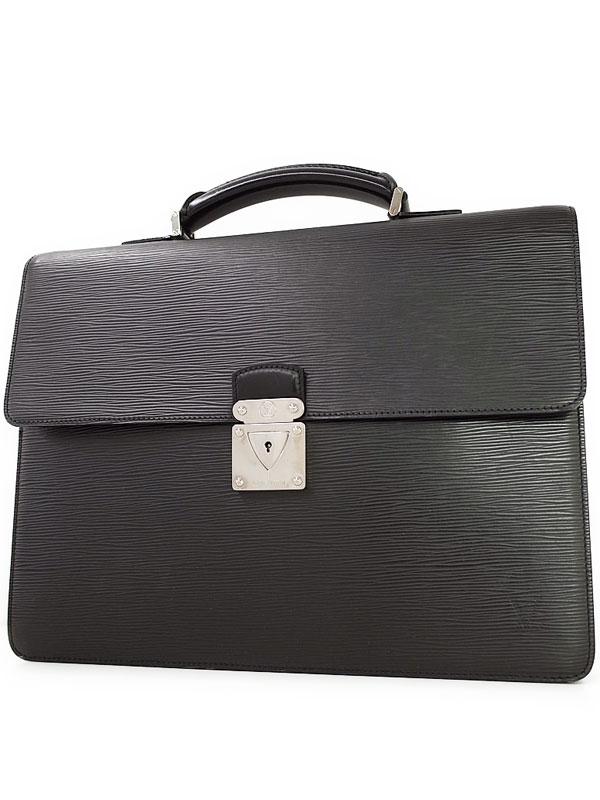 【LOUIS VUITTON】ルイヴィトン『エピ ラギート』M54552 メンズ ビジネスバッグ 1週間保証【中古】