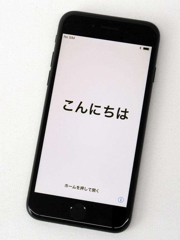【Apple】アップル『iPhone 7 32GB Softbank』MNCE2J/A ブラック iOS11.0.3 4.7型 白ロム ○判定 スマートフォン【中古】