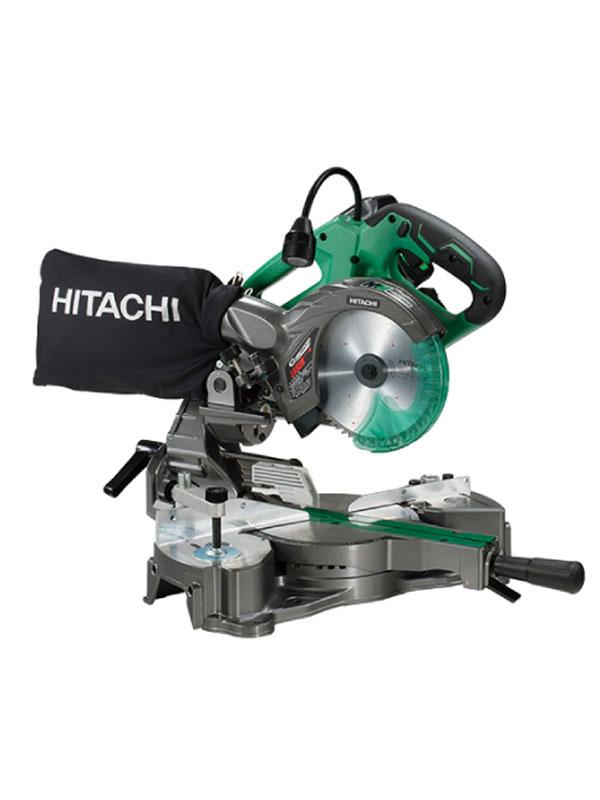 【HITACHI】日立工機『コードレス卓上スライド丸のこ』C3606DRA(XP) 36V レーザーマーカ LED【新品】