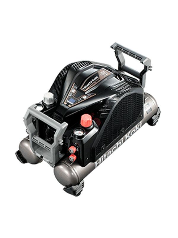 日立工機『高圧エアコンプレッサ』EC1445H3(TN) ブラック セキュリティ機能なし 最高45気圧 12Lタンク【新品】
