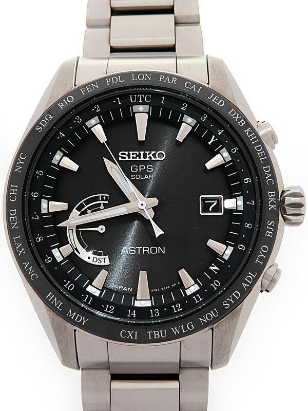 【SEIKO】【ASTRON】【'17年購入】セイコー『アストロン』SBXB085 66****番 メンズ ソーラーGPS 3ヶ月保証【中古】