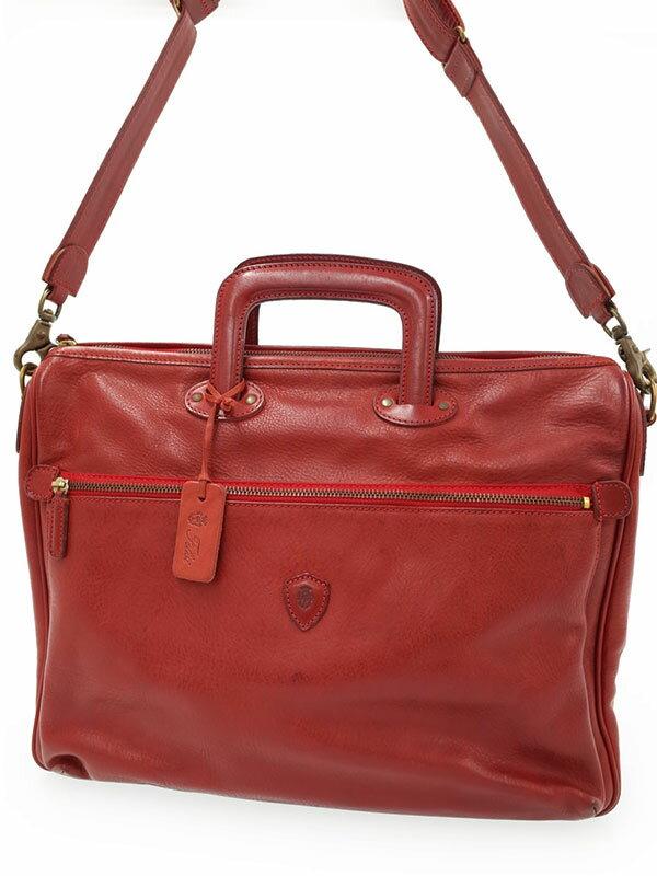 【Felisi】フェリージ『2WAYブリーフケース』1815/1 メンズ ビジネスバッグ 1週間保証【中古】