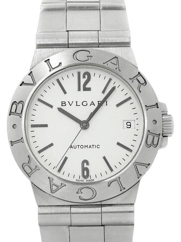 【BVLGARI】ブルガリ『ディアゴノ スポーツ』LCV35S メンズ 自動巻き 1ヶ月保証【中古】