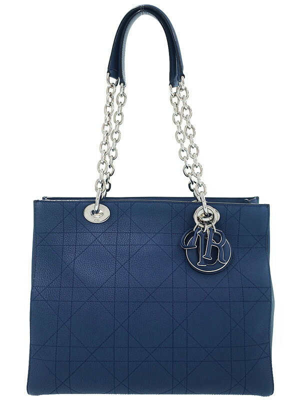 【Christian Dior】クリスチャンディオール『ウルトラディオール チェーントートバッグ』M1351PVCQ レディース 1週間保証【中古】